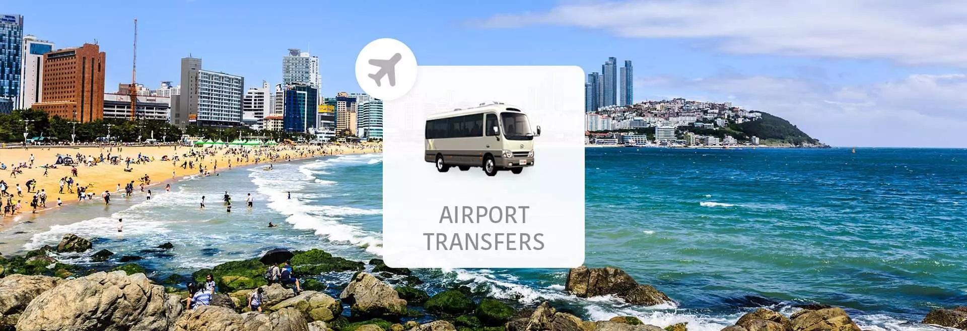 韓國釜山金海機場 (PUS)至釜山市區 機場接送專車 - KKday