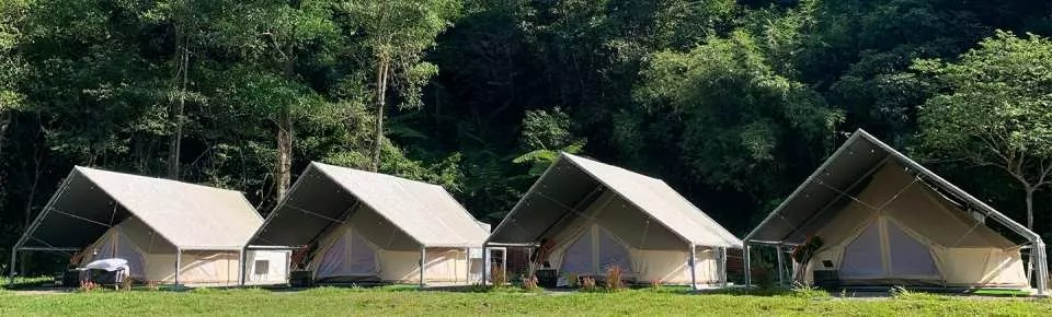 limited discount taiwan keelung lapopo campground glamping experience 1 night accommodation 3 or 1 meal s