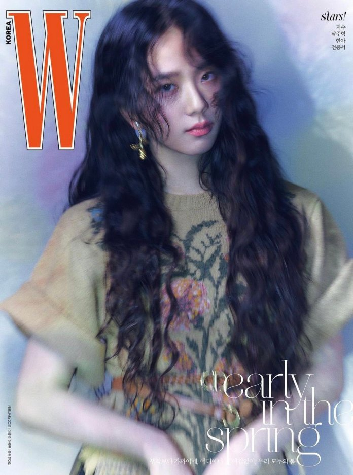 Image result for jisoo w magazine