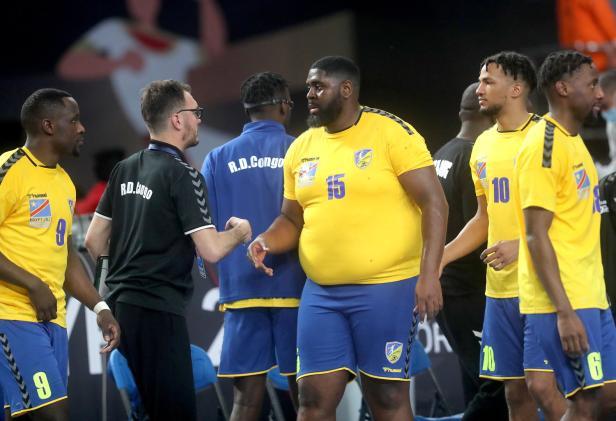 dem kongo verblufft die handball welt