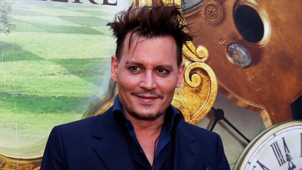 Johnny Depp Mit Neuer Deppen Frisur Kurier At
