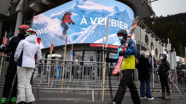 regierung scharft beim skifahren nach