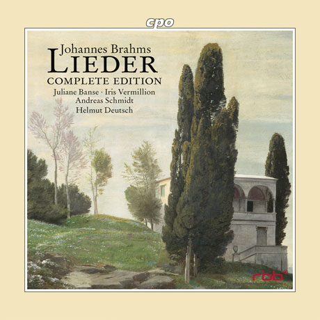 LIEDER COMPLETE EDITION/ JULIANE BANSE, HELMUT DEUTSCH [브람스: 가곡 전집]