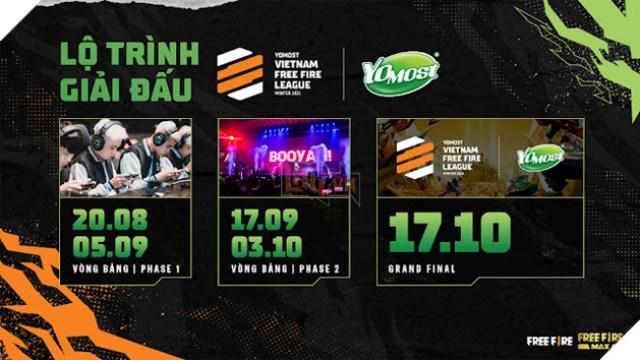 Yomost VFL Winter 2021 có tổng giá trị giải thưởng hơn 4 tỷ đồng: Khẳng định vị thế giải đấu chuyên nghiệp cấp cao nhất Free Fire Việt Nam 3