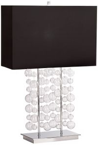 Possini Euro Design Bubble Cascade Table Lamp