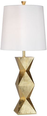 Ripley Gold Table Lamp - #2X122 | www.lampsplus.com