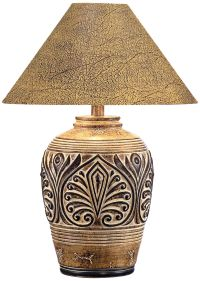 Brown Desert Sand Handcrafted Southwest Table Lamp ...