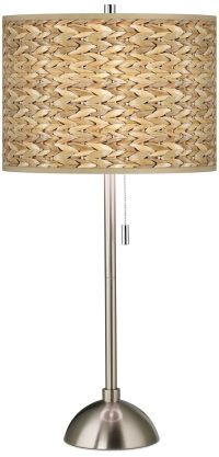 Seagrass Pattern Giclee Shade Table Lamp - #60757-N1665 ...