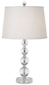 Herminie Stacked Ball Acrylic Table Lamp - #63462 ...
