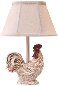 Chante Clair Rooster Accent Table Lamp - #6Y475 | www ...