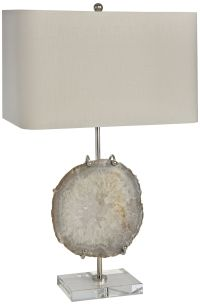 Stiffel Polished Nickel Table Lamp