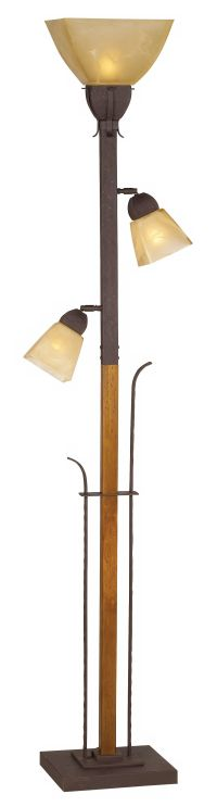 Aspen Grove Torchiere Floor Lamp