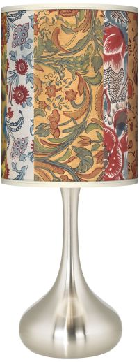 Bohemian Blooms Giclee Kiss Table Lamp - #K3334-3M555 ...