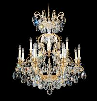 Schonbek Quantum Swarovski Elements Crystal Chandelier - # ...