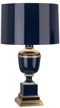 Mary McDonald Annika Cobalt and Natural Brass Table Lamp ...