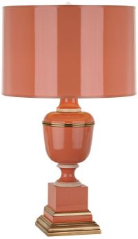 Mary McDonald Annika Tangerine Orange Table Lamp - #V8025 ...