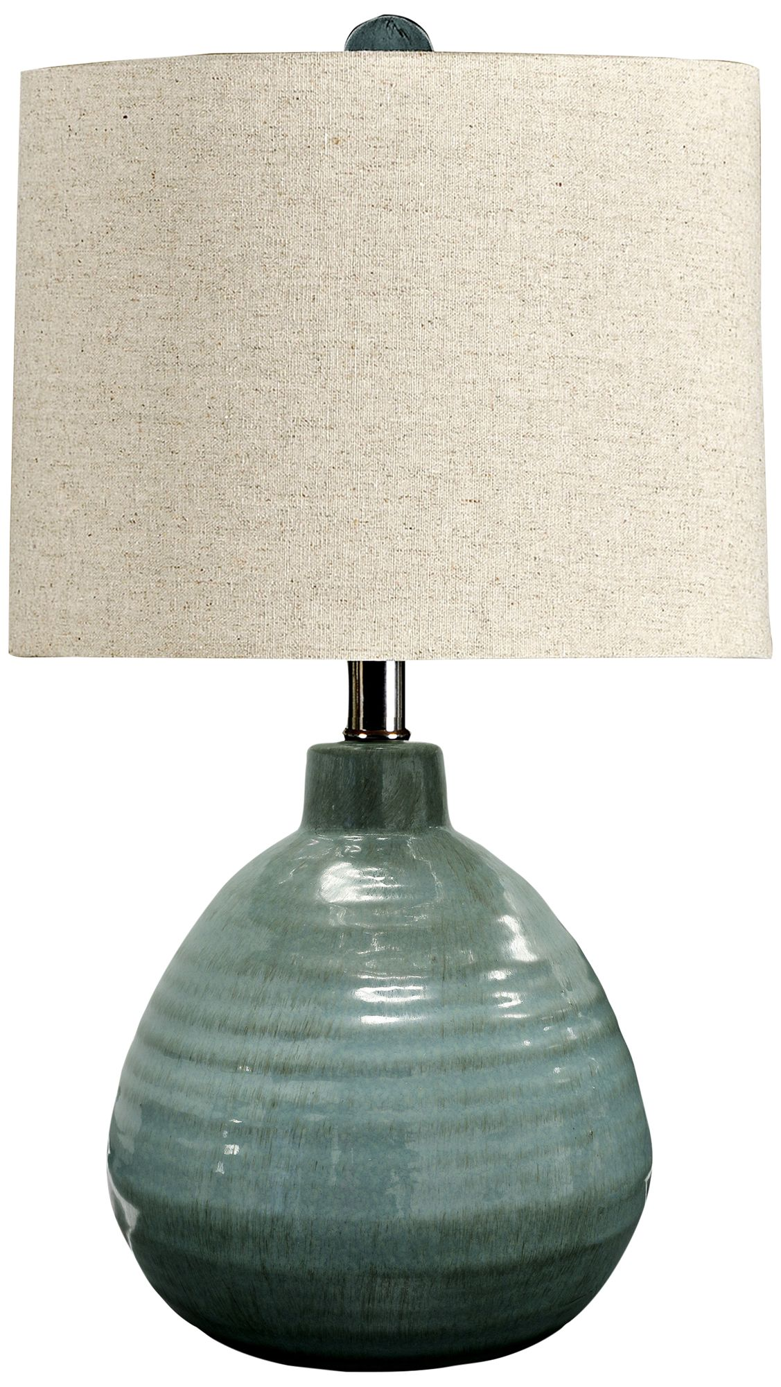 Turquoise green ceramic jar table lamp x0831 lampsplus com