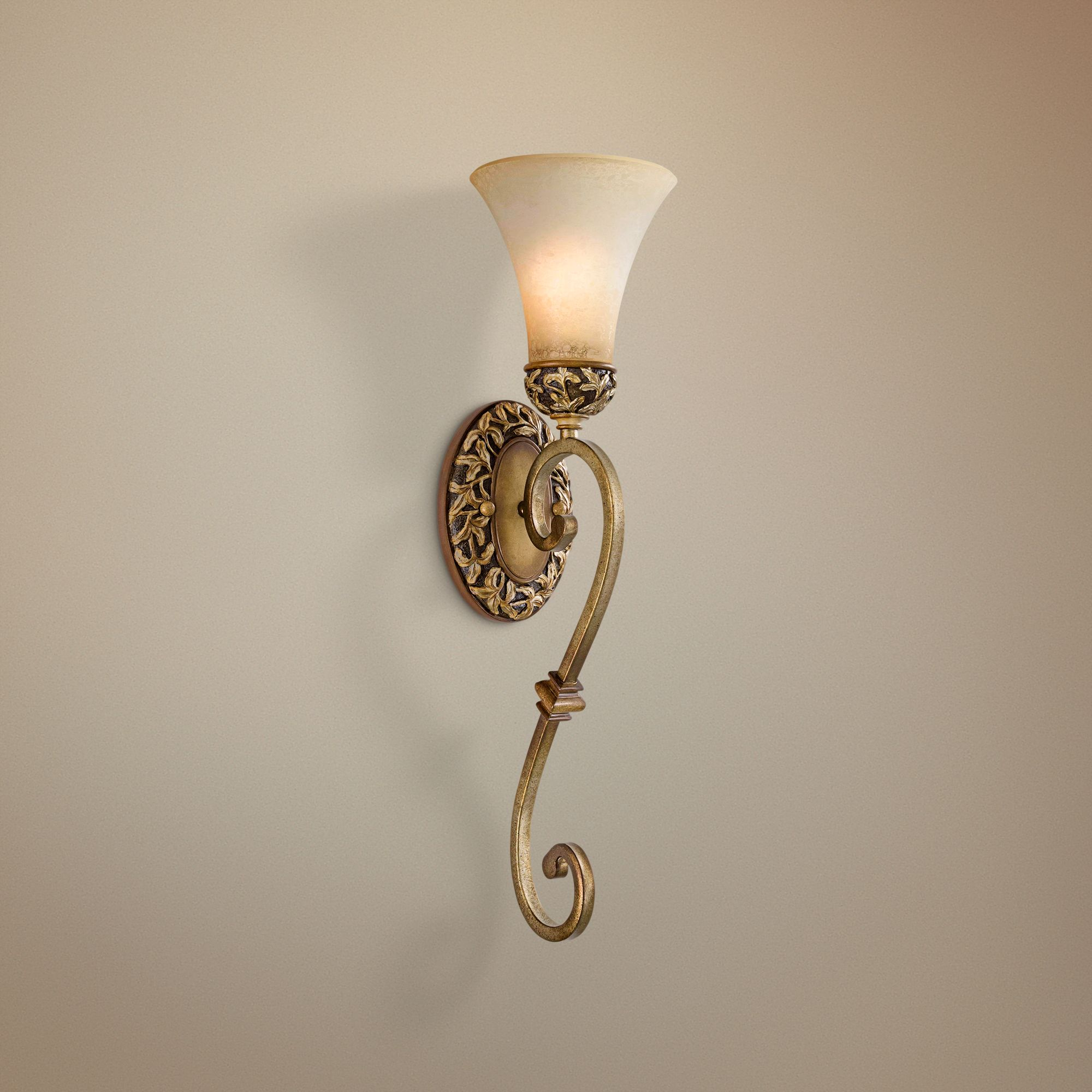 "Jessica McClintock Salon Grand 23 1/4"" High Wall Sconce"