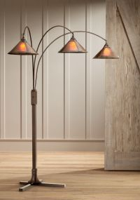 Mission Arc Mica Shade 3-Light Floor Lamp - #15971 | Lamps ...