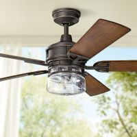 "60"" Kichler Lyndon Patio Olde Bronze Outdoor Ceiling Fan"