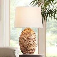 Nantucket Natural Seagrass Table Lamp - #2H296 | www ...