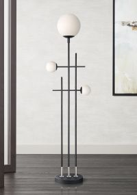 Possini Euro Design Asymmetry Floor Lamp