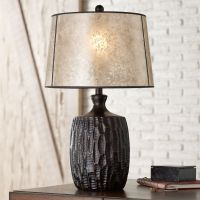 Kelly Table Lamp with Mica Shade