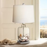 Square Glass Fillable Table Lamp - #3D619 | Lamps Plus
