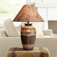 Wild West Handcrafted Southwest Table Lamp - #3N711 ...
