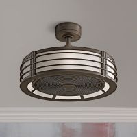 "23"" Fanimation Beckwith Oil-Rubbed Bronze Caged Ceiling ..."
