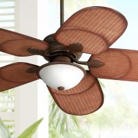 "52"" Casa Vieja Rattan Outdoor Tropical Ceiling Fan"