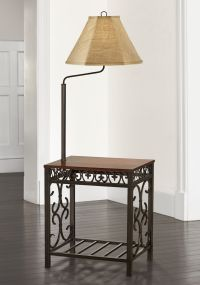 Travata End Table Floor Lamp - #5C204 | Lamps Plus