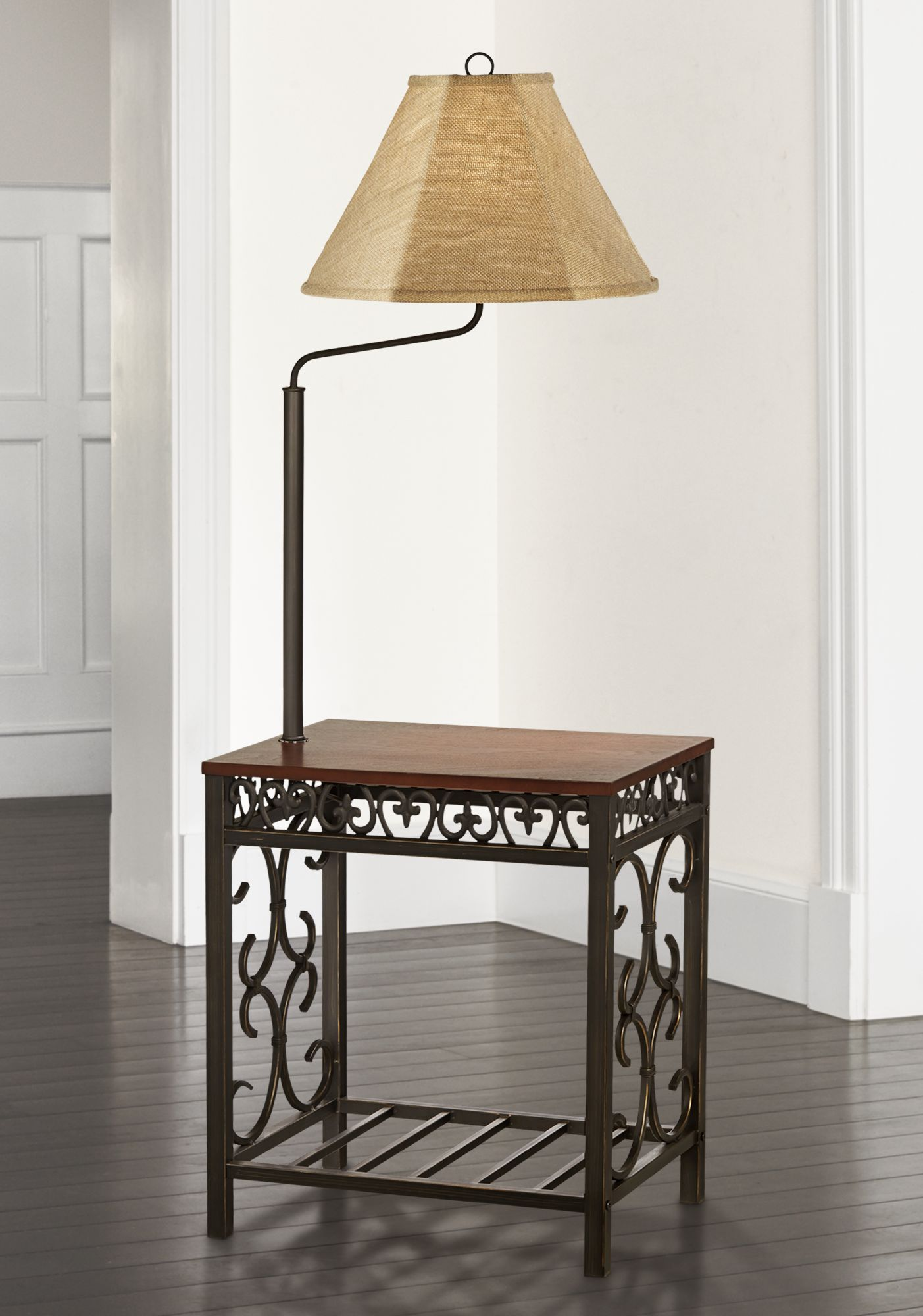 Traditional, Swing Arm Floor Lamps