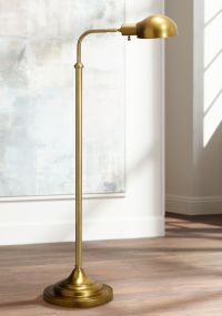 Robert Abbey Kinetic Antique Brass Pharmacy Floor Lamp ...