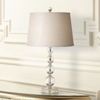 Herminie Stacked Ball Acrylic Table Lamp - #63462 | Lamps Plus