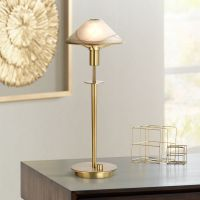 Holtkoetter Antique Brass Halogen Desk Lamp - #66064 ...