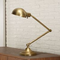 Robert Abbey Kinetic Antique Brass Pharmacy Desk Lamp