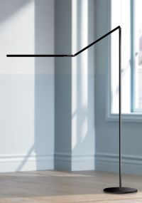 Koncept Gen 3 Z-Bar Warm Light LED Modern Floor Lamp Black ...