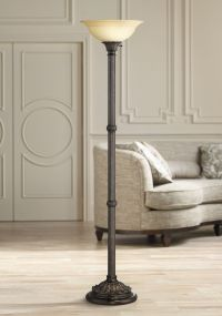 Bellham Bronze Traditional Torchiere Floor Lamp - #W9579 ...