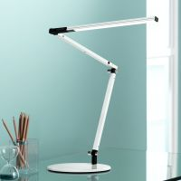 Koncept Gen 3 Z-Bar Mini Warm Light LED Desk Lamp White ...
