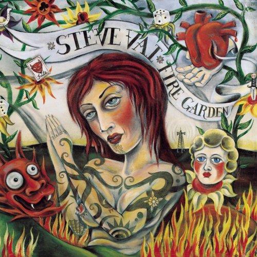 Steve Vai Fire garden logo album