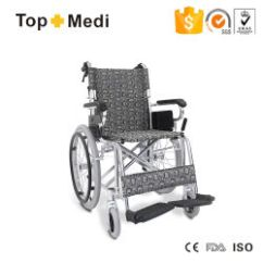 Portable Wheel Chair Outdoor With Ottoman Wholesale Wheelchairs China Price Lightweight Aluminum Folding Manual Wheelchair