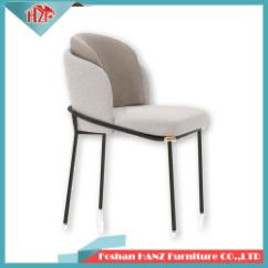 Modern Metal Chairs Wedding Chair Cover Hire Pembrokeshire China Manufacturers Suppliers Made In Hot Sell Rose Golden Legs Tufted Upholstery Fabric Dining For Restaurants