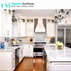 Kitchen Countertops Quartz Backsplash Marble China Manufacturers Carrara White Prefabricated Different Modular Stone Countertop