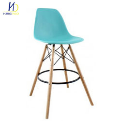 high chair wooden legs rattan swing double china manufacturers suppliers modern style plastic back bar stool