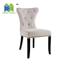 high back dining chair workout ball china manufacturers louis wooden fabric cheap modern with nails around
