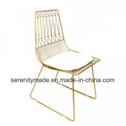 outdoor wire chairs executive office chair leather china manufacturers modern event furniture stackable gold metal dining