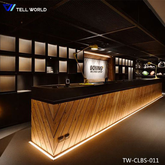 China Wholesale latest LED Night Club Bar Counter Design