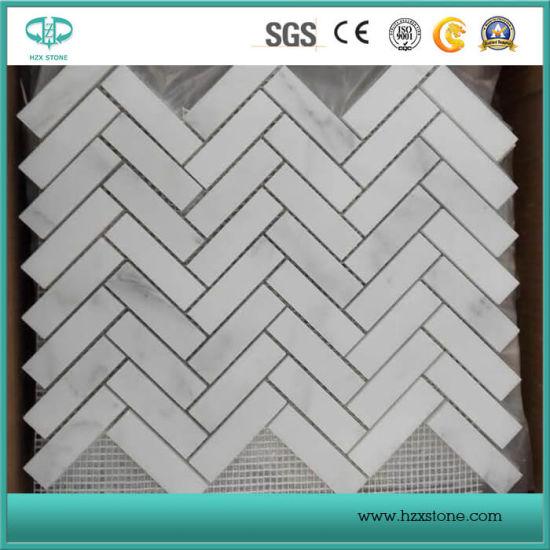 hexagon basketweave herringbone french