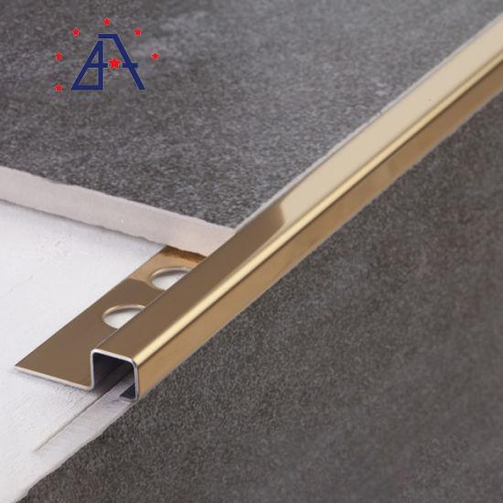 aluminum tile trim outside corner bead metal strip with holes